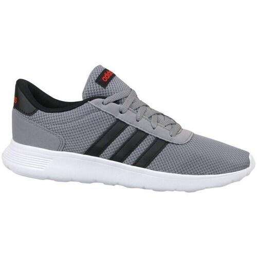 Shoes Children Low top trainers adidas Originals Lite Racer K Grey