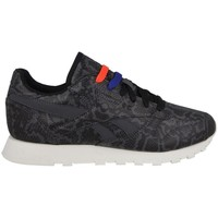 Shoes Women Low top trainers Reebok Sport Leather Snake Graphite,White,Black