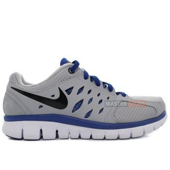 Shoes Children Running shoes Nike Flex 2013 RN GS Grey, Blue