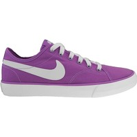 Shoes Women Low top trainers Nike Wmns Primo Court Canvas White,Violet