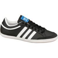 Shoes Children Low top trainers adidas Originals Plimcana Low K White,Black