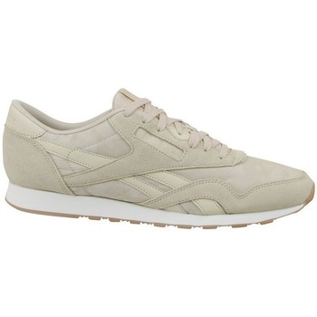 Shoes Men Low top trainers Reebok Sport CL Nylon SG Beige