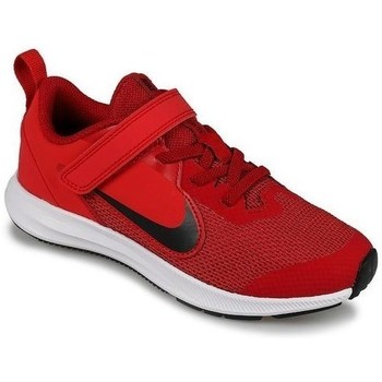 Shoes Children Low top trainers Nike Downshifter 9 Psv Red
