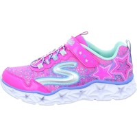 Shoes Girl Low top trainers Skechers Galaxy Lights Kinder Pink