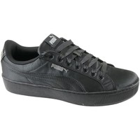 Shoes Women Low top trainers Puma Vikky Platform EP Black