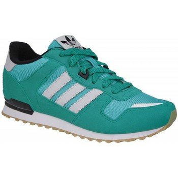 Shoes Children Low top trainers adidas Originals ZX 700 White,Green