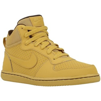 Shoes Children Hi top trainers Nike Court Borough Mid Honey