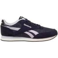 Shoes Women Low top trainers Reebok Sport Royal CL Jogger Black, Violet, Graphite