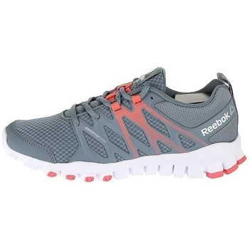 Shoes Women Low top trainers Reebok Sport Realflex Train 40 White, Grey, Orange