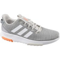 Shoes Children Low top trainers adidas Originals Cloudfoam Racer TR K Grey