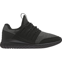 Shoes Children Low top trainers adidas Originals Tubular Radial J Black,Grey