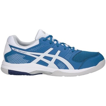 Shoes Men Multisport shoes Asics Gelrocket 8 White, Blue