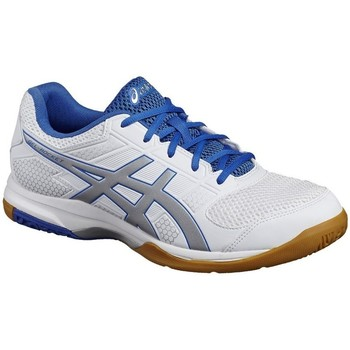 Shoes Men Multisport shoes Asics Gel Rocket 8 0193 White, Blue