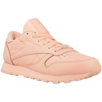 Shoes Women Low top trainers Reebok Sport Classic Leather L Orange