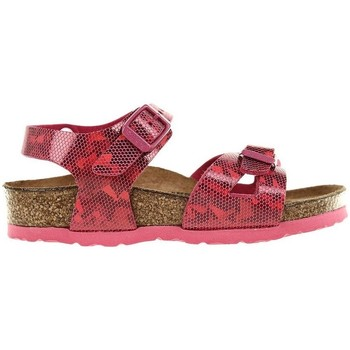 Shoes Girl Sandals Birkenstock Rio Kids Red