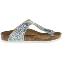 Shoes Girl Flip flops Birkenstock Gizeh Kids Silver