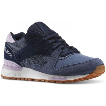 Shoes Women Low top trainers Reebok Sport GL 6000 WR Navy blue