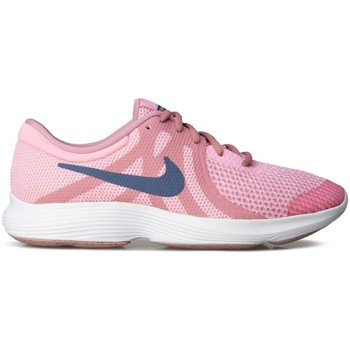 Shoes Girl Low top trainers Nike Revolution 4 GS Pink