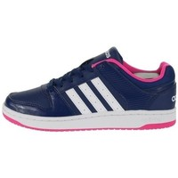 Shoes Women Low top trainers adidas Originals VS Hoopster W Black