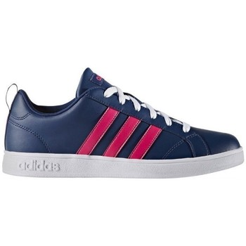 Shoes Women Low top trainers adidas Originals Advantage Navy blue, Pink
