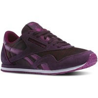 Shoes Women Low top trainers Reebok Sport CL Nylon Slim Geo Graphic Violet