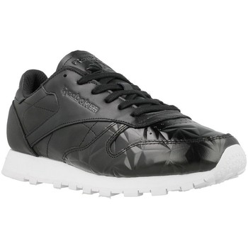 Shoes Women Low top trainers Reebok Sport CL Lthr Hype Metallic Black