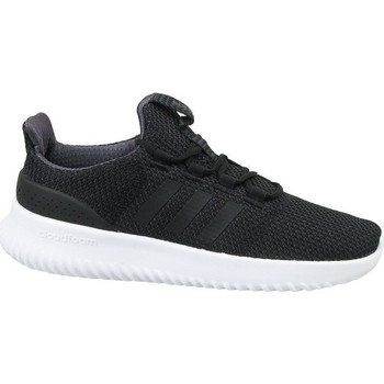 Shoes Children Low top trainers adidas Originals Cloudfoam Ultimate K Black
