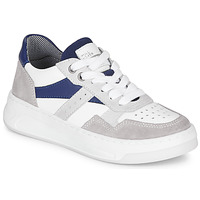 Shoes Boy Low top trainers Bullboxer NICOLE White / Blue