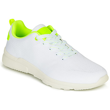 Shoes Girl Low top trainers Bullboxer NORA White / Yellow