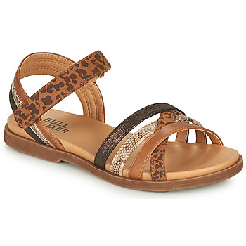 Shoes Girl Sandals Bullboxer ELYSA Brown