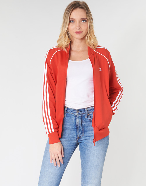 Clothing Women Track tops adidas Originals SS TT Red