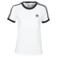Clothing Women short-sleeved t-shirts adidas Originals 3 STR TEE White