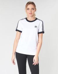 Clothing Women short-sleeved t-shirts adidas Originals 3 STR TEE White