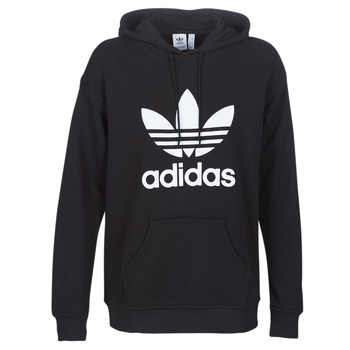Clothing Women Sweaters adidas Originals TRF HOODIE Black