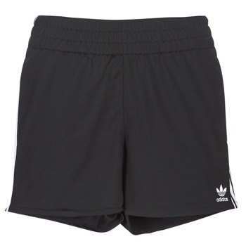 Clothing Women Shorts / Bermudas adidas Originals 3 STR SHORT Black