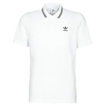 Clothing Men Short-sleeved polo shirts adidas Originals PIQUE POLO White