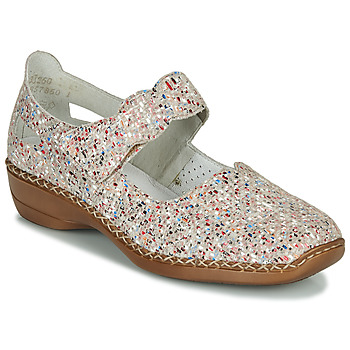 Shoes Women Sandals Rieker NILOS Multicoloured