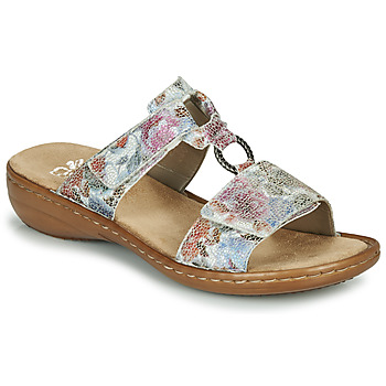 Shoes Women Mules Rieker MOLA Multicoloured