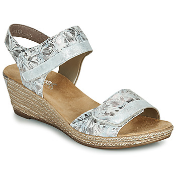 Shoes Women Sandals Rieker NAKOUS Silver