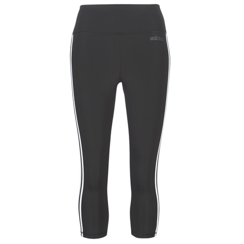 Clothing Women Leggings adidas Performance D2M 3S 34 TIG Black