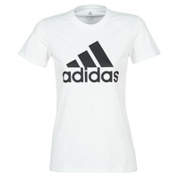 Clothing Women short-sleeved t-shirts adidas Performance BOS CO TEE White