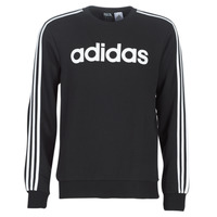 Clothing Men Sweaters adidas Performance E 3S CREW FL Black