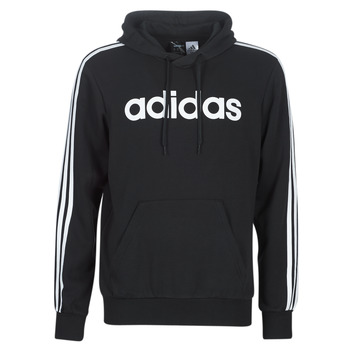 Clothing Men sweaters adidas Performance E 3S PO FL Black