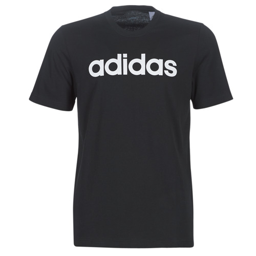 Clothing Men Short-sleeved t-shirts adidas Performance E LIN TEE Black
