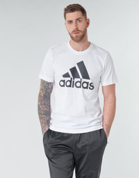 Clothing Men Short-sleeved t-shirts adidas Performance MH BOS Tee White
