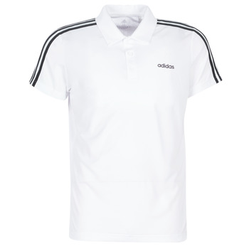 Clothing Men short-sleeved polo shirts adidas Performance M D2M CLA 3S PO White
