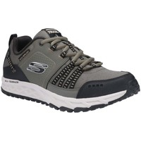 Shoes Men Fitness / Training Skechers Escape Plan Lace-Up Trainer green