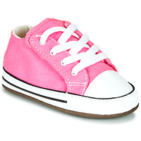 Shoes Girl Hi top trainers Converse CHUCK TAYLOR FIRST STAR CANVAS HI Pink