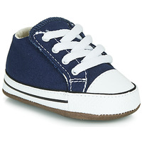 Shoes Children Hi top trainers Converse CHUCK TAYLOR FIRST STAR CANVAS HI Blue