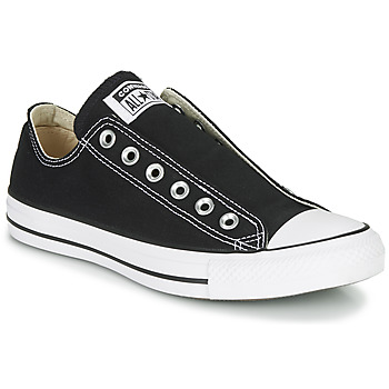 Shoes Women Slip-ons Converse Chuck Taylor All Star Slip Core Basics Black